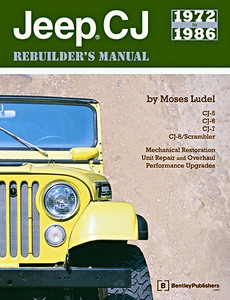Livre : Jeep CJ Rebuilder's Manual: 1972 to 1986