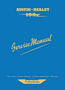 Boek: Austin-Healey 100 (BN1 & BN2) - Official Service Manual