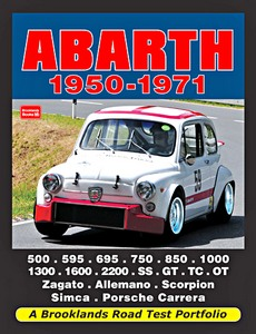 Boek: Abarth (1950-1971) - Brooklands Road Test Portfolio