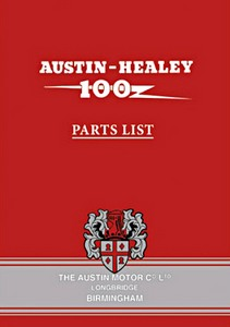 Boek: Austin-Healey 100 (BN1 & BN2) - Official Parts List