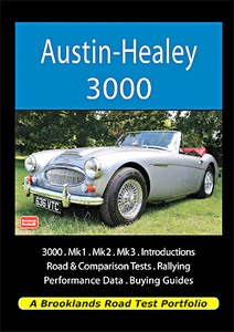 Boek: Austin-Healey 3000 - Brooklands Road Test Portfolio