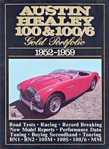 Boek: Austin-Healey 100 & 100/6 (1952-1959) - Brooklands Gold Portfolio