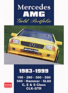 Boek: Mercedes AMG (1983-1999) - Brooklands Gold Portfolio