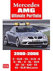 Boek: Mercedes AMG (2000-2006) - Brooklands Ultimate Portfolio