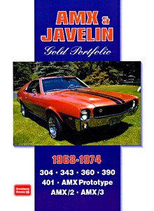 Boek: AMX & Javelin (1968-1974) - Brooklands Gold Portfolio