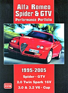 Boek: Alfa Romeo Spider & GTV (1995-2005) - Brooklands Performance Portfolio