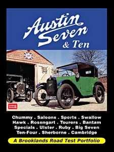 Boek: Austin Seven & Ten - Brooklands Road Test Portfolio