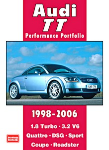 Boek: Audi TT (1998-2006) - Brooklands Performance Portfolio