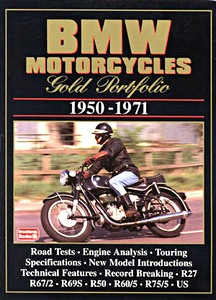 Livre : BMW Motorcycles (1950-1971) - Brooklands Gold Portfolio