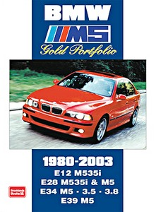 Boek: BMW M5 (1980-2003) - Brooklands Gold Portfolio