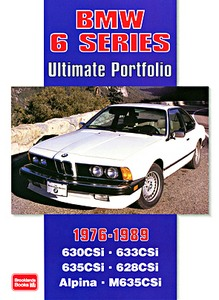 Boek: BMW 6 Series (1976-1989) - Brooklands Ultimate Portfolio