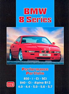 Boek: BMW 8 Series - Brooklands Performance Portfolio
