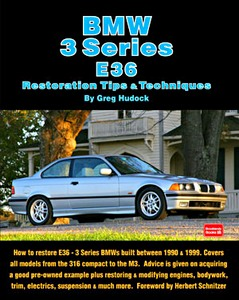 Boek: BMW 3 Series (E36, 1990-1999) - Restoration Tips & Techniques
