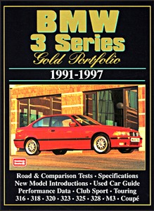 Boek: BMW 3 Series (1991-1997) - Brooklands Gold Portfolio