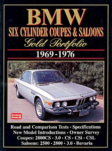 Boek: BMW Six Cylinder Coupes & Saloons (1969-1976) - Brooklands Gold Portfolio