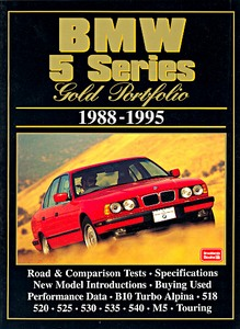 Boek: BMW 5 Series (1988-1995) - Brooklands Gold Portfolio