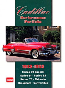 Boek: Cadillac (1948-1958) - Brooklands Performance Portfolio