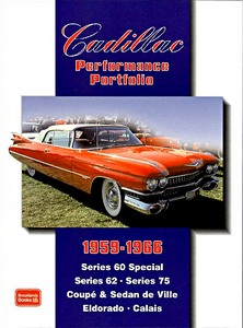 Boek: Cadillac (1959-1966) - Brooklands Performance Portfolio