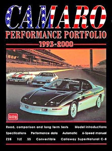 Boek: Camaro (1993-2000) - Brooklands Performance Portfolio