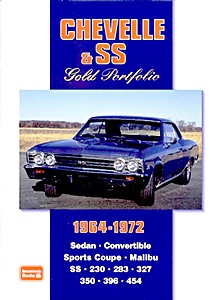 Boek: Chevelle & SS (1964-1972) - Brooklands Gold Portfolio