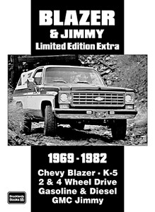 Livre : Chevrolet Blazer & GMC Jimmy (1969-1982) - Brooklands Portfolio