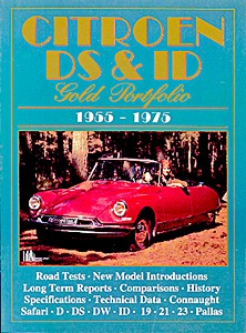 Boek: Citroen DS & ID (1955-1975) - Brooklands Gold Portfolio