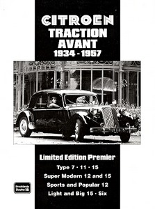 Boek: Citroen Traction Avant (1934-1957) - Brooklands Portfolio