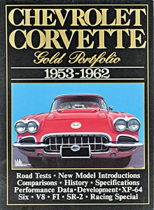 Boek: Chevrolet Corvette (1953-1962) - Brooklands Gold Portfolio