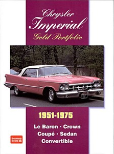 Boek: Chrysler Imperial (1951-1975) - Brooklands Gold Portfolio