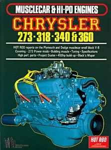 Boek: Chrysler 273, 318, 340, 360 (Musclecar & Hi Po Engines)