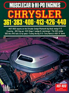 Boek: Chrysler 361, 383, 400, 413, 426, 440 (Musclecar & Hi Po Engines)