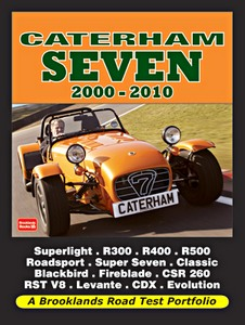 Boek: Caterham Seven (2000-2010) - Brooklands Road Test Portfolio