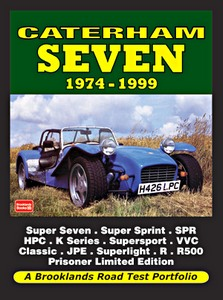 Boek: Caterham Seven (1974-1999) - Brooklands Road Test Portfolio