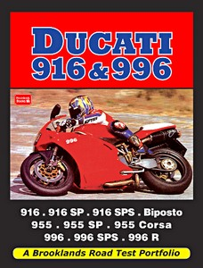 Livre : Ducati 916 & 996 - Brooklands Road Test Portfolio