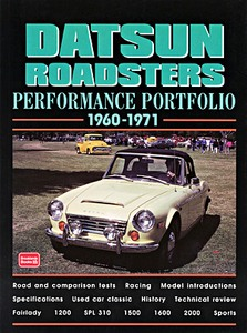 Boek: Datsun Roadsters (1960-1971) - Brooklands Performance Portfolio