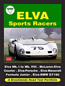 Boek : Elva Sports Racers - Brooklands Road Test Portfolio