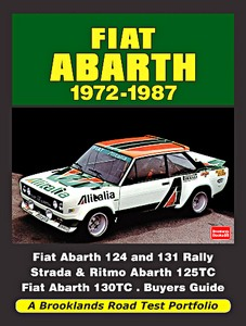 Boek: Fiat Abarth (1972-1987) - Brooklands Road Test Portfolio