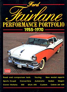 Boek: Ford Fairlane (1955-1970) - Brooklands Performance Portfolio