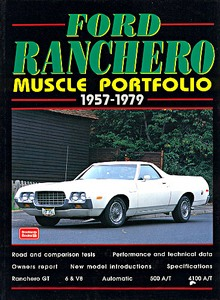 Boek: Ford Ranchero (1957-1979) - Brooklands Muscle Portfolio
