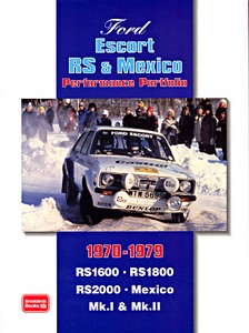 Boek: Ford Escort RS & Mexico (1970-1979) - Brooklands Performance Portfolio