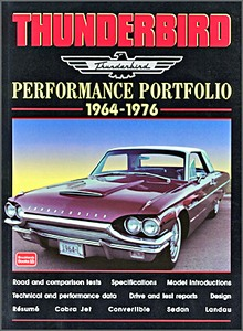 Boek: Thunderbird (1964-1976) - Brooklands Performance Portfolio