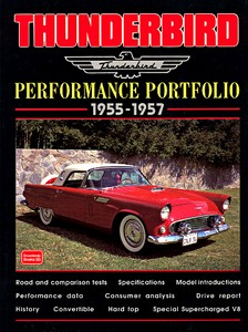 Boek: Thunderbird (1955-1957) - Brooklands Performance Portfolio