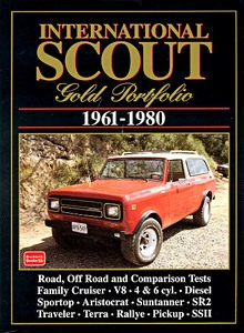 Livre : International Scout (1961-1980) - Brooklands Gold Portfolio