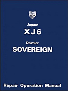 Boek: Daimler Sovereign & Jaguar XJ6 Series 2 (1974-1979) - Official Repair Operation Manual
