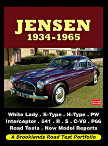 Boek: Jensen (1934-1965) - Brooklands Road Test Portfolio