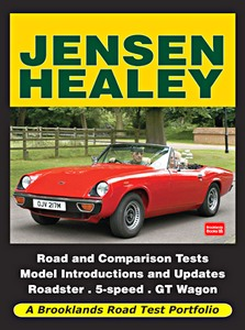 Boek: Jensen Healey - Brooklands Road Test Portfolio
