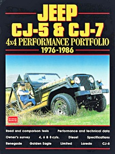 Livre : Jeep CJ-5 & CJ-7 4x4 (1976-1986) - Brooklands Performance Portfolio