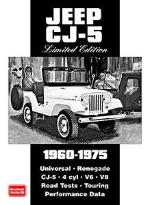 Livre : Jeep CJ-5 (1960-1975) - Brooklands Portfolio