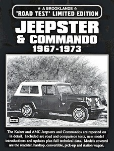 Livre : Jeepster & Commando (1967-1973) - Brooklands Portfolio