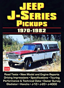 Livre : Jeep J-Series Pickups (1970-1982) - Brooklands Portfolio